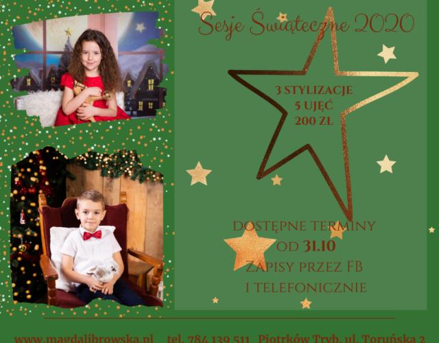 sesja świąteczna Piotrków 2020