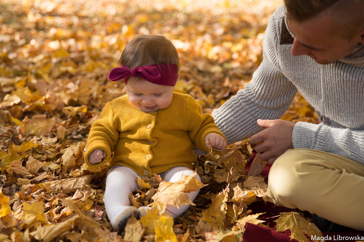 jesienna sesja rodzinna Piotrków