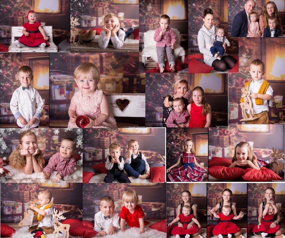 mini-sesje świąteczne Piotrków