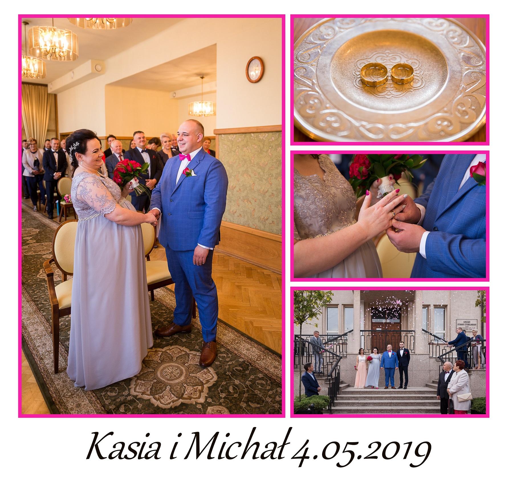 ślub Kasi i Michała