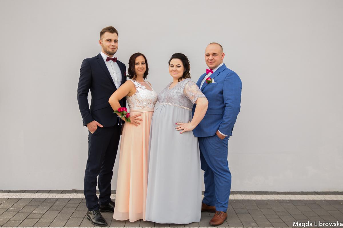 ślub w Piotrkowie Kasi i Michała