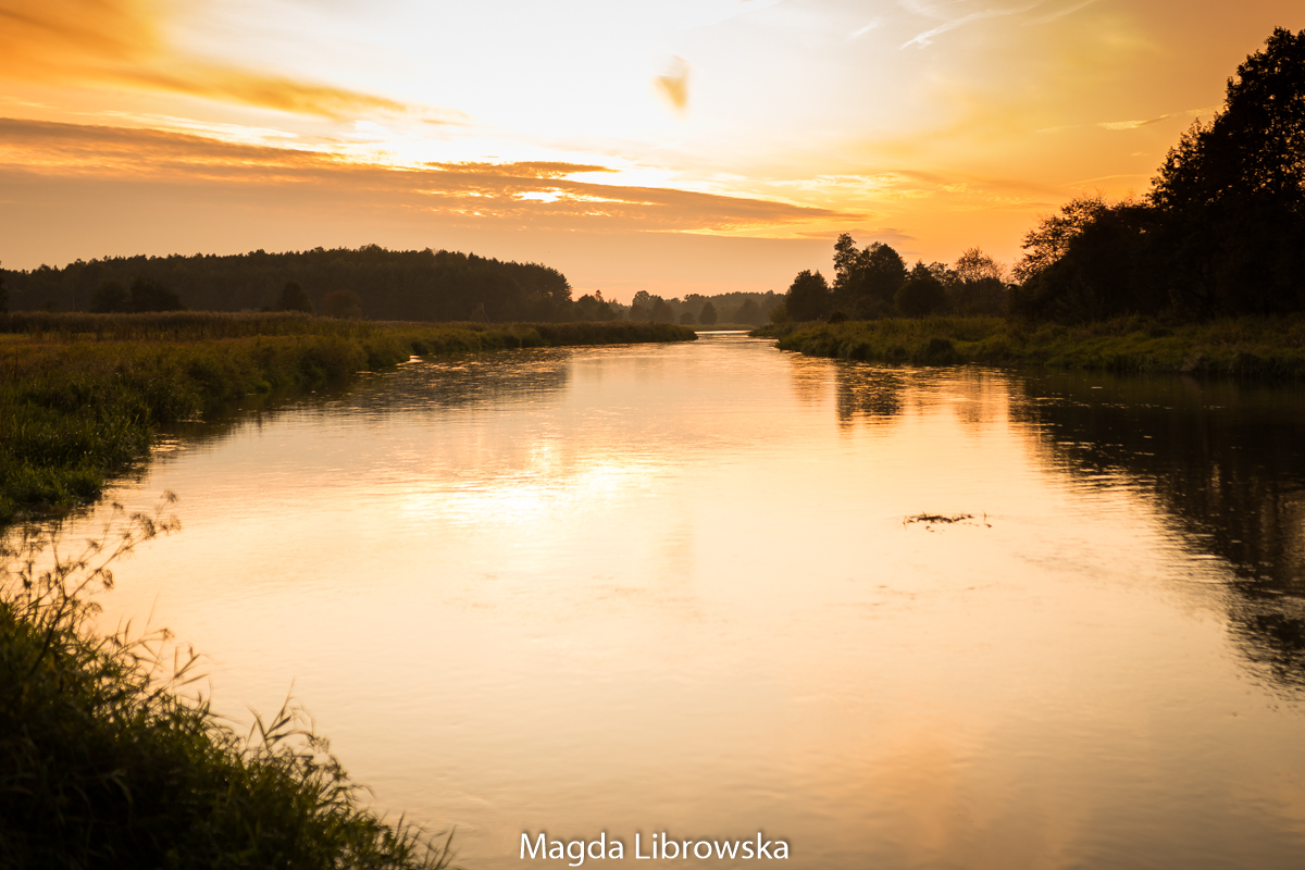 sesja nad rzeką