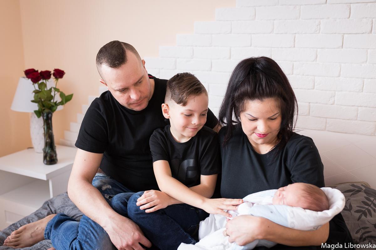 Sesja noworodkowa Szymonka w domu (6 of 28)