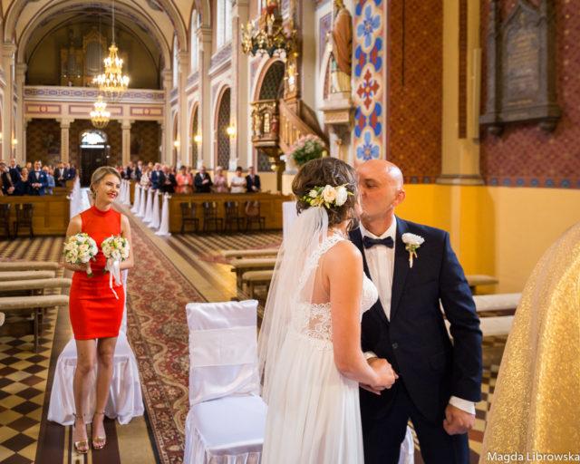 Ślub Ani i Łukasza - fotograf Kamieńsk